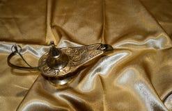 Lâmpada do vintage de Aladdin fotos de stock