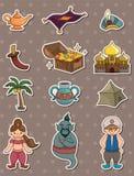 Lâmpada dos desenhos animados de Aladdin ilustração royalty free