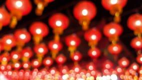 Lâmpada e fundo chineses borrados sumário do bokeh imagem de stock