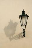 Lâmpada e sombra imagem de stock