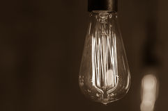 Lâmpada Edison Imagem de Stock