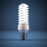 Lâmpada fluorescente Foto de Stock