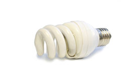 Lâmpada fluorescente Imagens de Stock Royalty Free