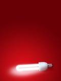 Lâmpada fluorescente Imagens de Stock