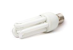 Lâmpada fluorescente branca Imagens de Stock