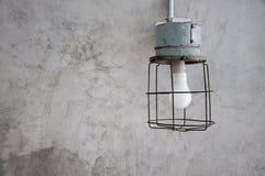 Lâmpada mínima antiga Foto de Stock Royalty Free