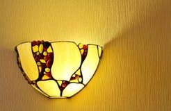 Lâmpada na parede Imagem de Stock Royalty Free