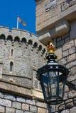 Lâmpada no castelo de Windsor Fotografia de Stock