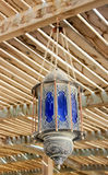 A lâmpada no estilo árabe Imagem de Stock