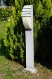 Lâmpada no jardim Imagens de Stock
