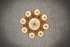 A lâmpada no telhado fotos de stock