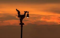 lâmpada Pássaro-dada forma Imagens de Stock Royalty Free