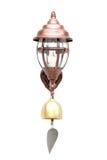 A lâmpada retro do sino Foto de Stock