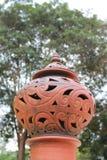 Lâmpada tailandesa da cerâmica Imagem de Stock