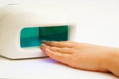 Lâmpada ultravioleta. Foto de Stock
