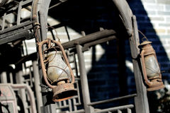 Lâmpada velha do carro Imagem de Stock Royalty Free