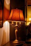 Lâmpada velha no café Imagens de Stock Royalty Free