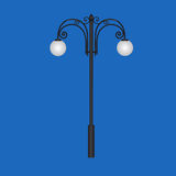 Lâmpadas à moda da cidade Imagens de Stock Royalty Free