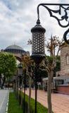 Lâmpadas árabes Hagia Sophia Church Istanbul imagem de stock