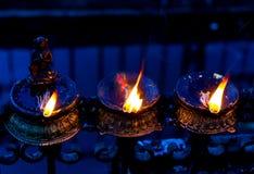 Lâmpadas ardentes Fotografia de Stock Royalty Free