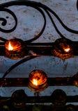 Lâmpadas ardentes Foto de Stock Royalty Free