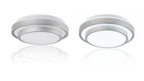 Lâmpadas circulares do teto foto de stock