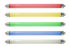 Lâmpadas coloridas Foto de Stock Royalty Free