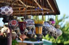 Lâmpadas coloridas Imagens de Stock Royalty Free