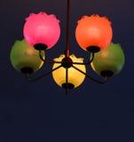 Lâmpadas coloridas (GDR) Foto de Stock Royalty Free