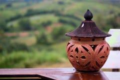 Lâmpadas da argila Imagem de Stock