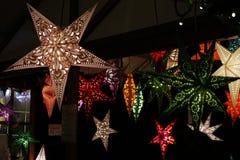 Lâmpadas da estrela Fotografia de Stock