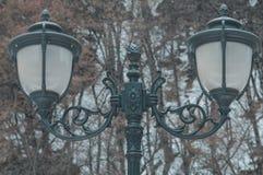Lâmpadas da iluminação de rua fotos de stock