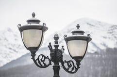 Lâmpadas da iluminação de rua foto de stock royalty free