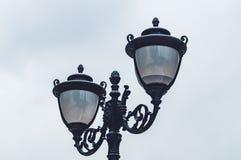 Lâmpadas da iluminação de rua fotos de stock royalty free