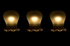 Lâmpadas da iluminação no candelabro foto de stock royalty free