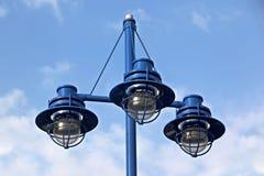 Lâmpadas da luz de rua fotografia de stock