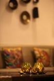 Lâmpadas da meditação Fotos de Stock