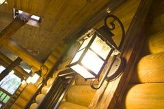 Lâmpadas da noite Fotografia de Stock Royalty Free