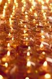 Lâmpadas de óleo na profundidade de campo rasa Imagens de Stock Royalty Free