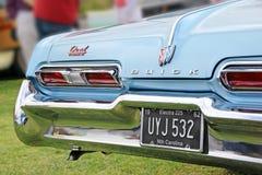 Lâmpadas de cauda americanas do buick Fotografia de Stock Royalty Free