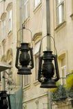 Lâmpadas de querosene Imagens de Stock Royalty Free