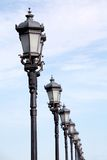 Lâmpadas de rua imagens de stock