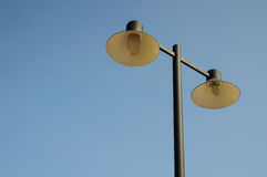 Lâmpadas de rua Foto de Stock