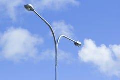 Lâmpadas de rua Fotografia de Stock Royalty Free