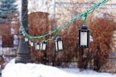 Lâmpadas de rua bonitas Imagem de Stock Royalty Free