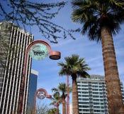 Lâmpadas de rua dos pares 0f em Phoenix Imagem de Stock