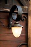 Lâmpadas de rua elétricas retros velhas feitas do estilo do metal Foto de Stock Royalty Free