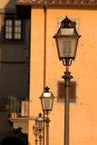Lâmpadas de rua em Florença Foto de Stock