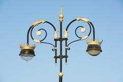 Lâmpadas de rua em Muscat, Omã Imagens de Stock Royalty Free