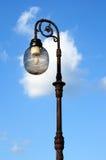 Lâmpadas de rua ornamentado Fotos de Stock
